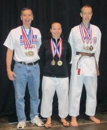 Glen Sarah and John National Champs!